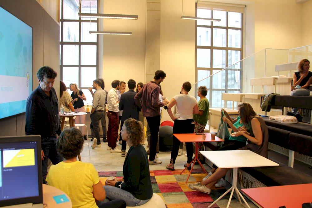 Réciprocité - media - Présentation au WOJO à Lyon.