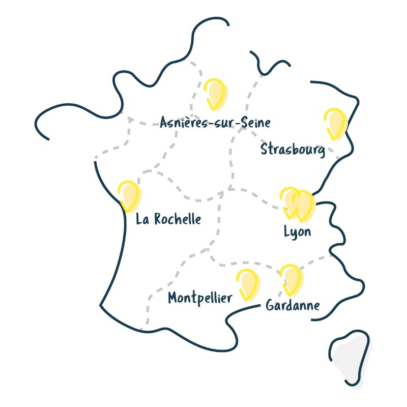 Réciprocité - Récipro-Cité - La carte des Conciergeries Participatives