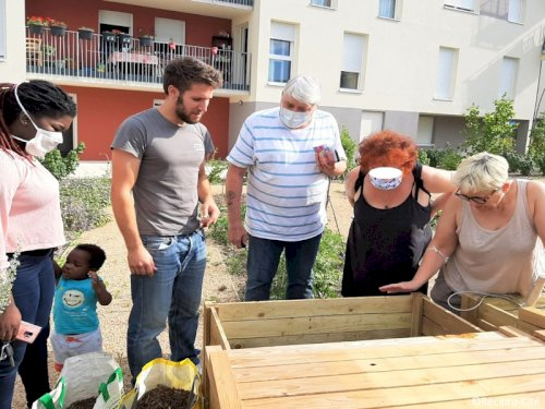 Réciprocité - media - Atelier jardinage.