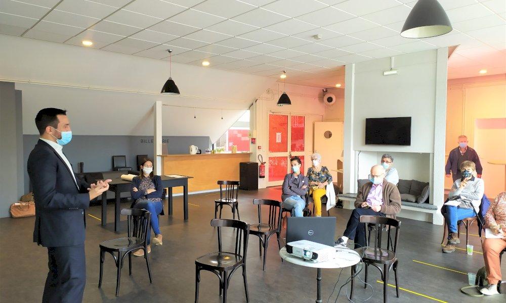 Réciprocité - Réciprocité - AMU sur la future résidence à thème - quartier Saragosse
