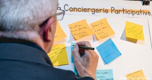 Réciprocité - media - Inauguration de la Conciergerie Participative à Asnières-sur-Seine, au sein de la Maison du Projet du quartier de Seine Ouest.