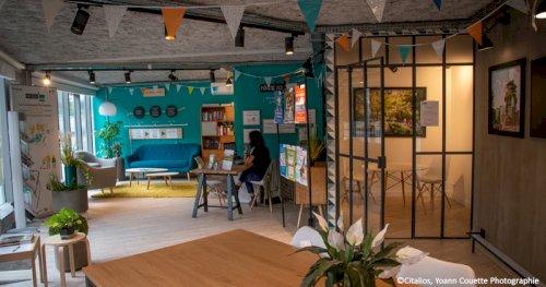 Réciprocité - media - Vue de l'intérieur de la Conciergerie Participative au sein de la Maison du Projet du quartier de Seine Ouest.